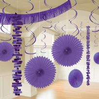 Purple Room Decoration Kit (18)